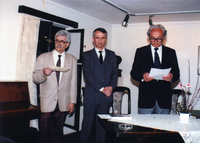 Exhibition opening in the House of Đura Jakšić